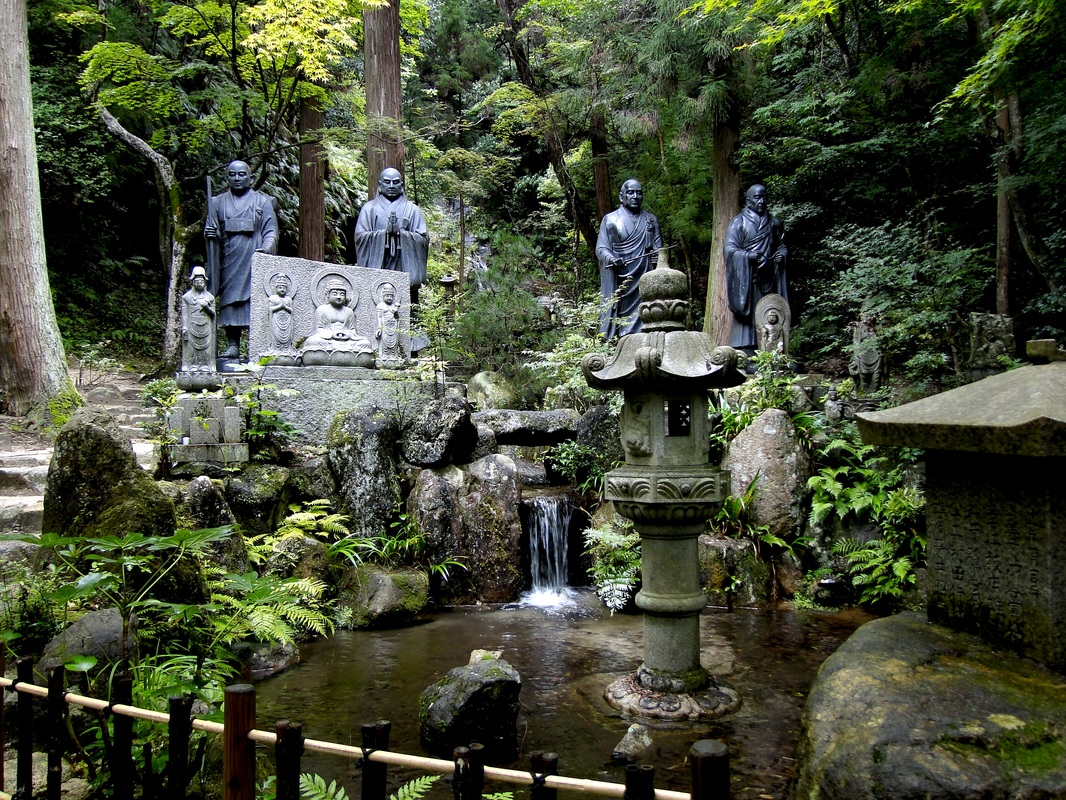 Mitaki Sanctuary, near Hiroshima, Japan. © Carrie Speaking