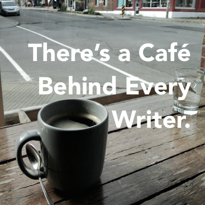 Synopsis: There's a Café Behind Every Writer.